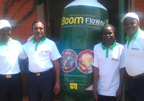 Boom Flower launches in Kenya