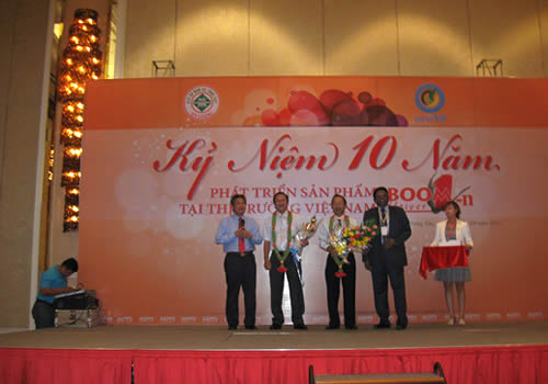 10 years celebrations of Boom Flower in Vietnam